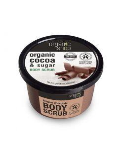 Organic Cocoa & Sugar Body Scrub-250-ml